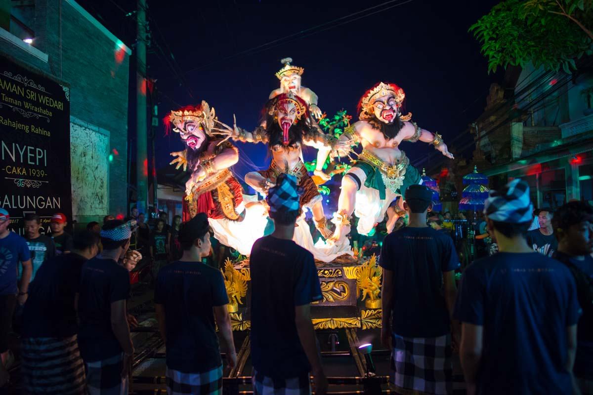 Ogoh-Ogoh Nyepi Bali New Year