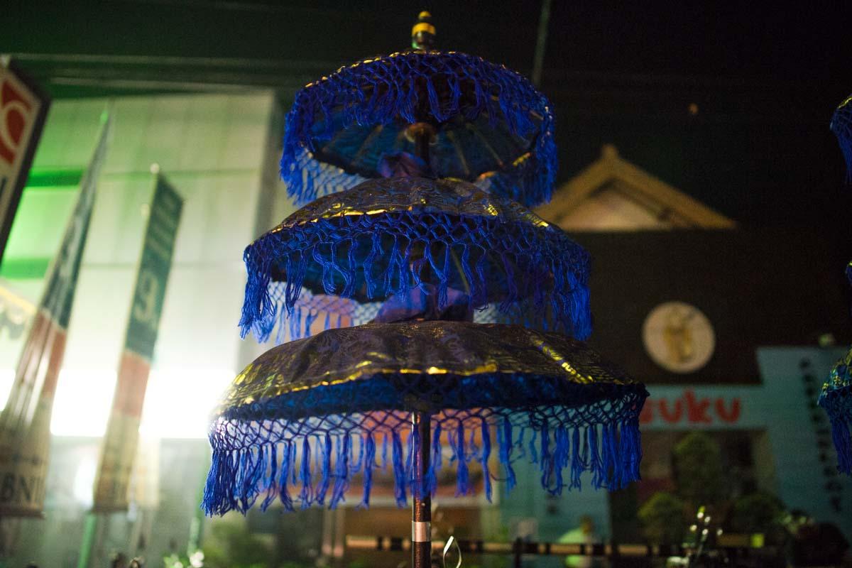 balinese three tier umbrella